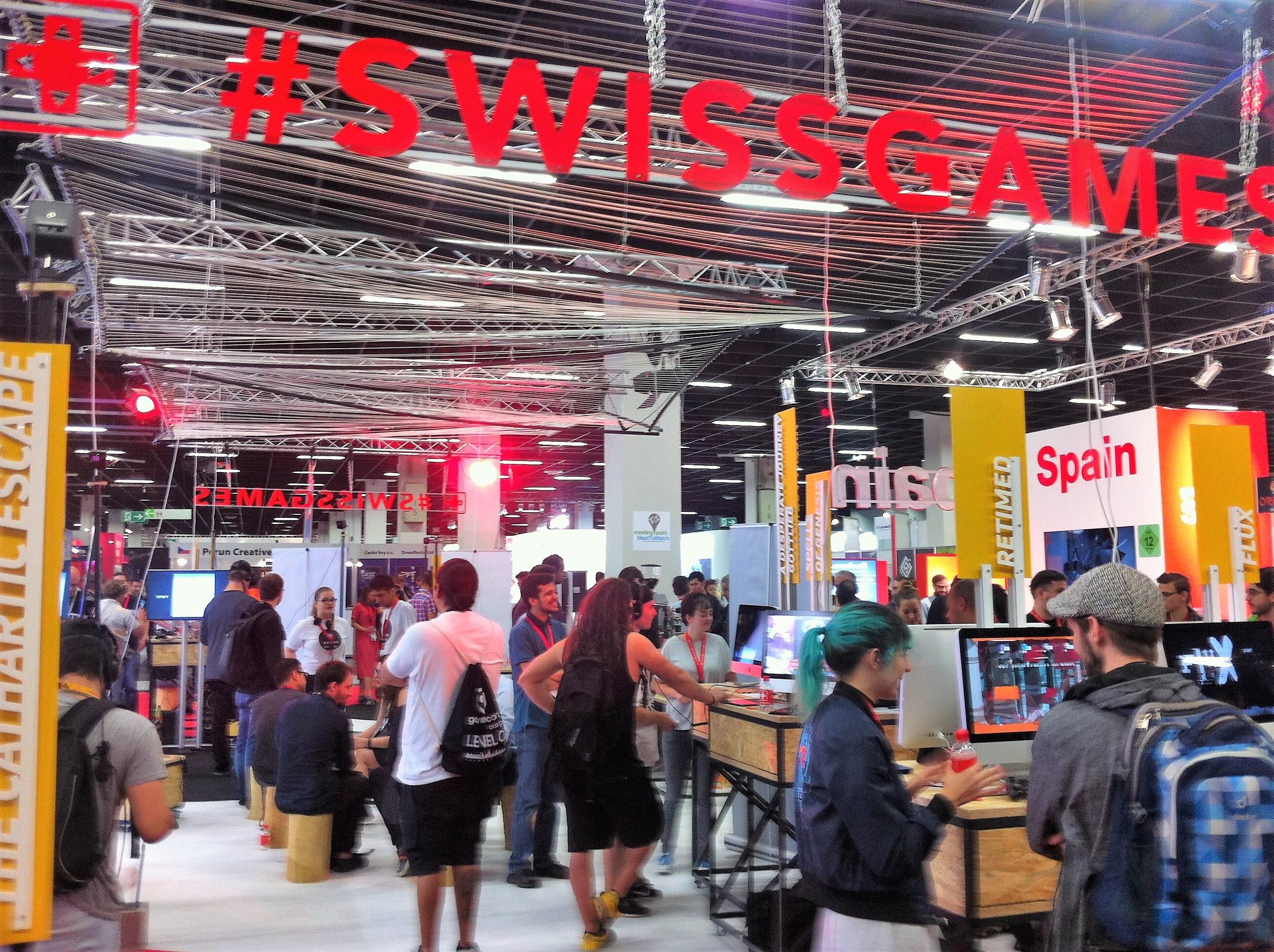 SWISSGAMES at Gamescom (c) SWISSGAMES