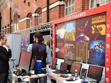 SWISSGAMES at Nordic Game Conference (c) SWISSGAMES