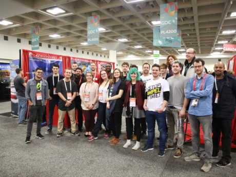 SWISSGAMES delegation at GDC 2018 (c) Swissnex San Francisco