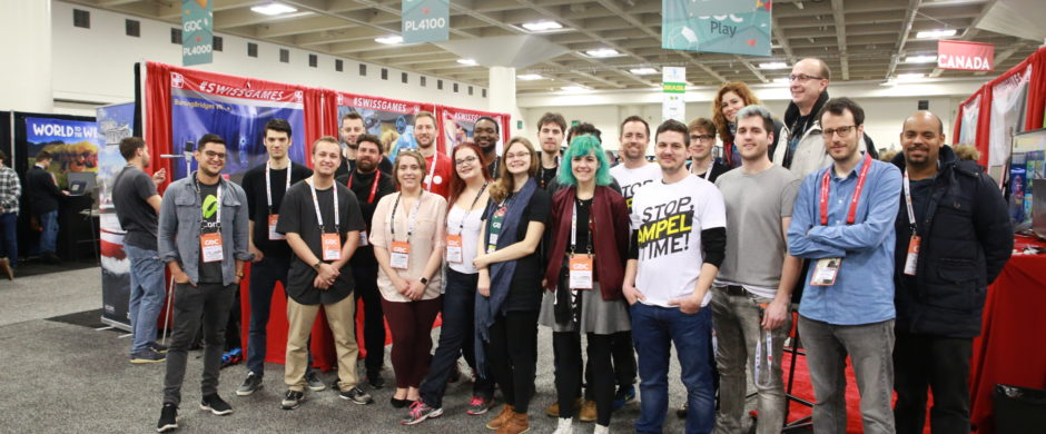 SWISSGAMES delegation at GDC 2018 (c) Swissnex San Francisco