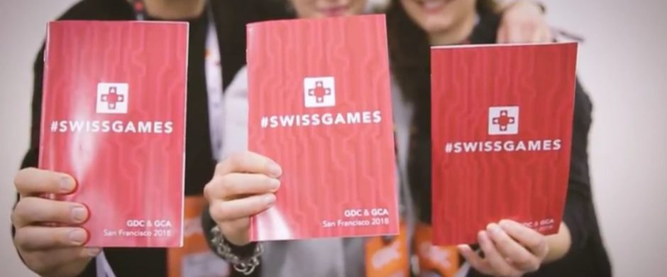 SWISSGAMES delegation at GDC 2018 (c) SWISSGAMES