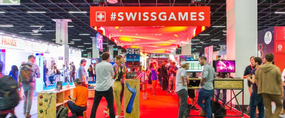 SwissGames at Gamescom 2018 © Julia Malcher PVM production