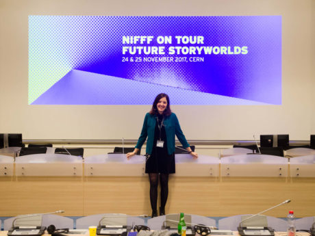 Salômé Guillemin, winner of the 2017 FUTURE STORYWORLDS