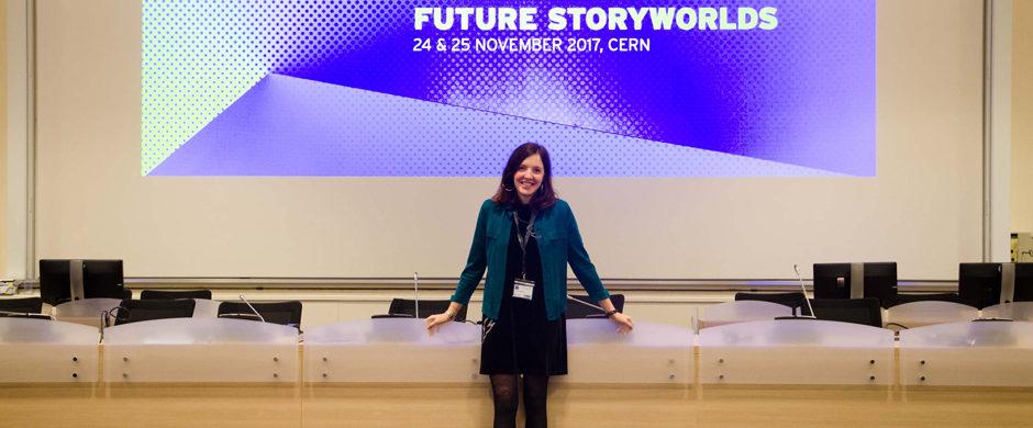Salômé Guillemin, winner of the 2017 FUTURE STORYWORLDS
