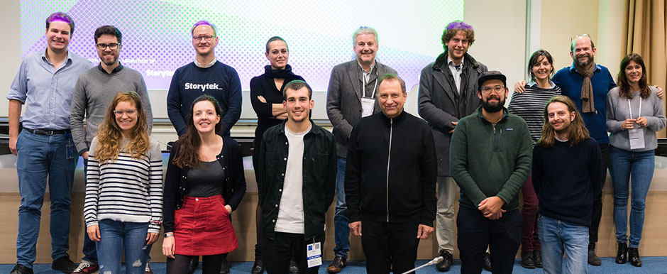 NIFFF ON TOUR FUTURE STORYWORLDS 2018: Jury, participants & team (c) NIFFF