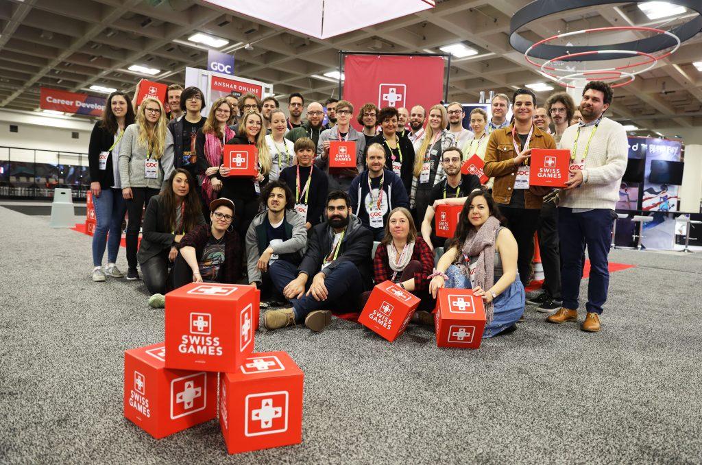 SwissGames at GDC 2019 © Riccardo Ferraris