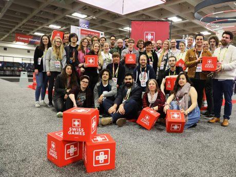 SwissGames 2019 delegation © Riccardo Ferraris