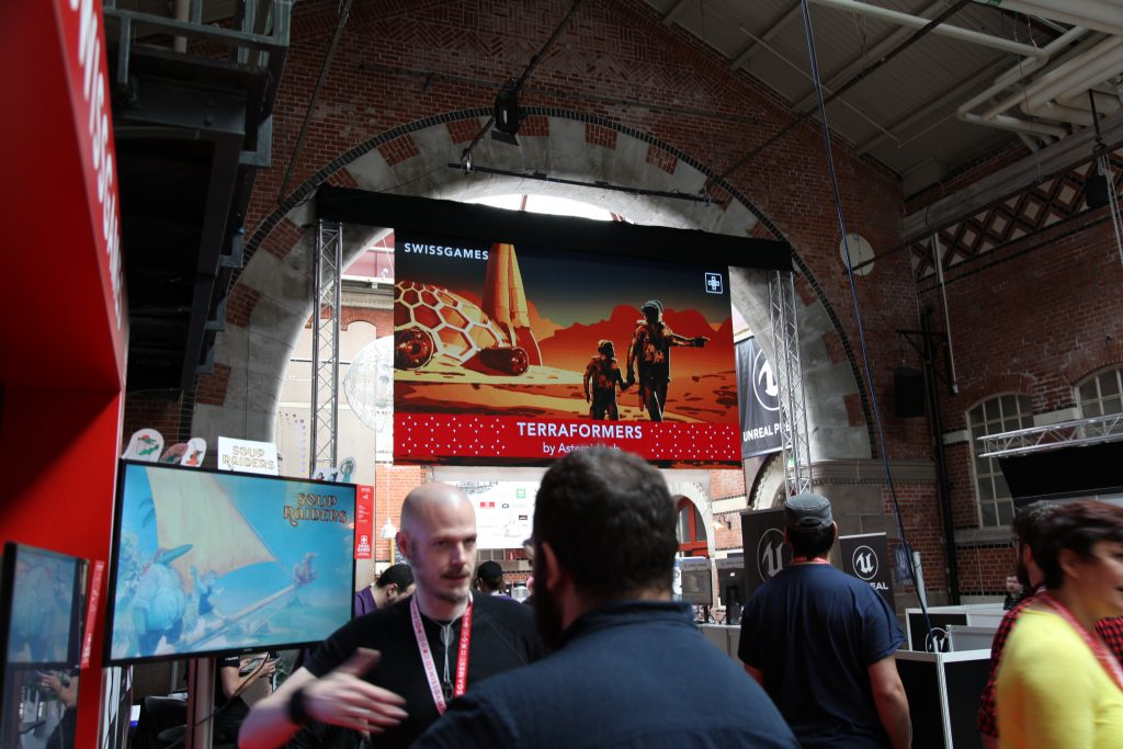 SwissGames at Nordic 2019 (c) Hannah Fasnacht