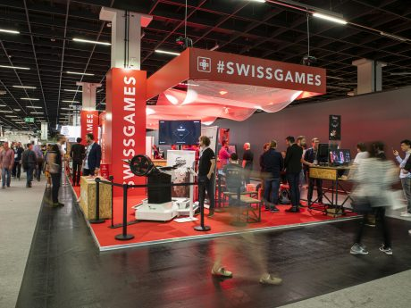 SwissGames at Gamescom 2019 (c) Julia Malcher