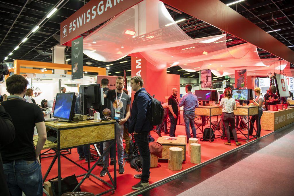 SwissGames at Gamescom 2019 (c) Julia Malcher PVM production