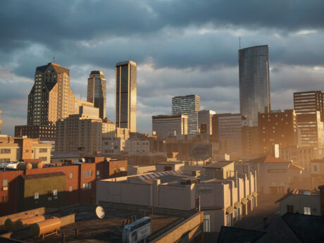 Los Angeles 3D Buildings for Unity3D (c) vrbn studios