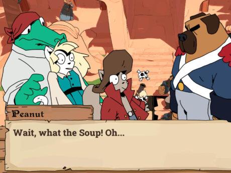 Soup Raiders Game Screenshot